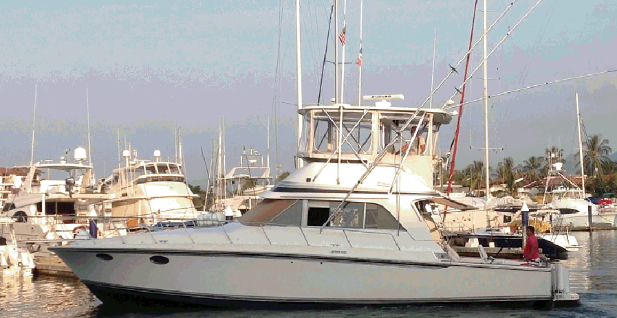 47 Ft Luxury Sportfishing Yacht For Up To 12 People