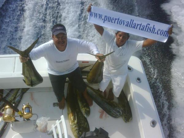 Puerto vallarta dorado fishing for Morro bay deep sea fishing
